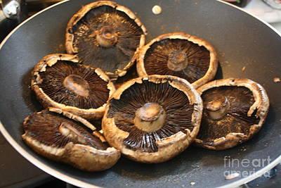 Portobello Mushroom Art Print