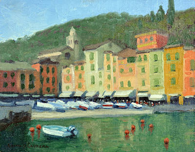 Portofino Art Print by Armand Cabrera