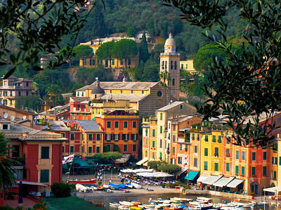 Portofino Art Print by Carl Jackson