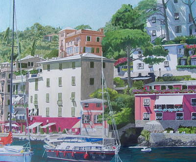 Mixed Media - Portofino by Constance Drescher