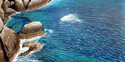 Portofino Sea Original by Hunter Jay