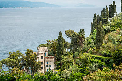 Portofino Fine Art Photograph - Portofino Sea View by Ken Nelson