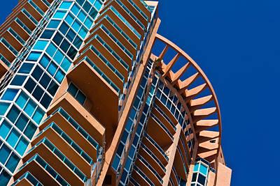 Photograph - Portofino Tower In Miami Beach by Ed Gleichman