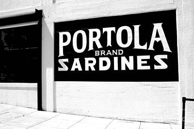 Photograph - Portola Sardines by Chiara Corsaro