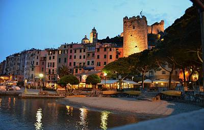 Portovenere At Night Art Print
