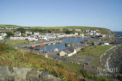 Photograph - Portpatrick Harbour by David Birchall