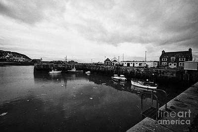 Portpatrick Harbour Scotland Uk Art Print by Joe Fox