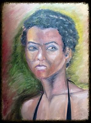 Portrait Painting - Portrait 1 by Ankita Ghosh