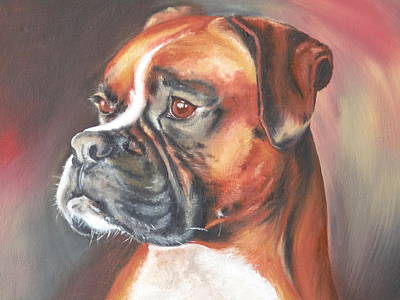 Portrait Art Print by Cute Pet Canvas