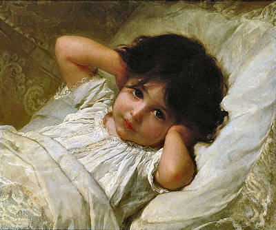 Marie-louise Digital Art - Portrait De Marie-louise  by Emile Munier