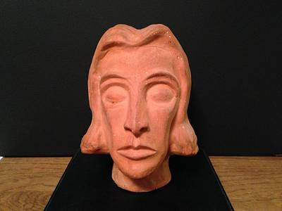Sculpture - Portrait by Erika Chamberlin