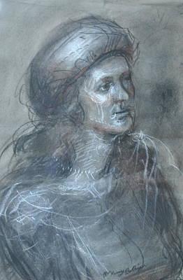 Palo Cedro Painting - Portrait Gaze by Patricia Kimsey Bollinger