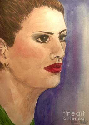 Lovely Lavender - Portrait Model by Joan-Violet Stretch