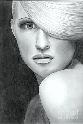 Drawing - Portrait by Nicola Butt