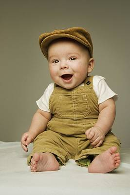 Bright Appearance Photograph - Portrait Of A Baby Boy by Kelly Redinger