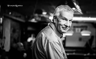 Photograph - Portrait Of A Blurred Old Man... by Stwayne Keubrick
