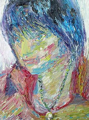 Portrait Of A Boy - Marcus Art Print by Fabrizio Cassetta