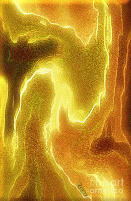 Profound Digital Art - Portrait Of A Bright Soul - Spiritual Abstract Art By Giada Rossi by Giada Rossi
