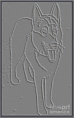 Portrait Of A Friend Poaf00000001 Art Print by Pemaro