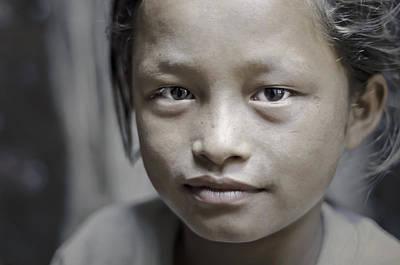 Photograph - Portrait Of A Girl by Valerie Rosen