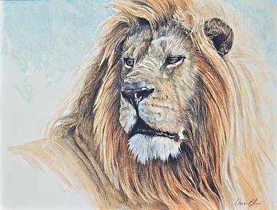 Digital Art - Portrait Of A King by Aaron Blaise