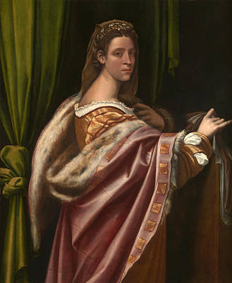 Painting - Portrait Of A Lady by Sebastiano del Piombo