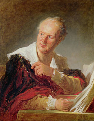 Author Painting - Portrait Of A Man, 1769 by Jean-Honore Fragonard