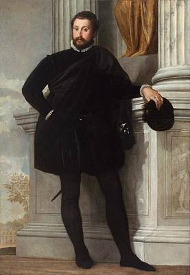 Getty Painting - Portrait Of A Man by Paolo Veronese