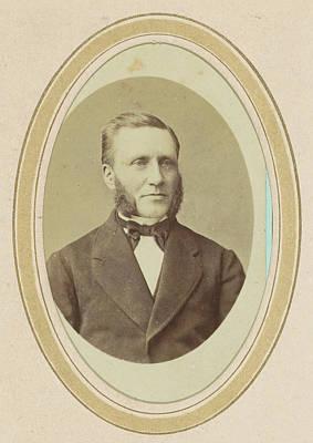 Portrait Of A Man With Sideburns, J.c. Reesinck Art Print by Artokoloro
