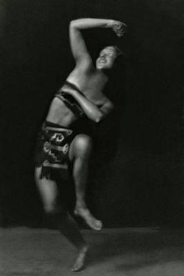 Portrait Of A Marion Morgan Dancer Print by Arnold Genthe