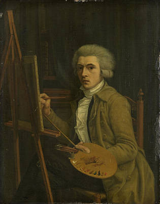 Himself Painting - Portrait Of A Painter, Probably The Artist Himself by Litz Collection