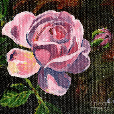 Painting - Portrait Of A Rose by Christine Montague