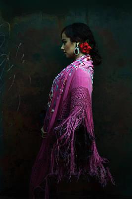 Photograph - Portrait Of A Spanish Dancer by Scott Burdick