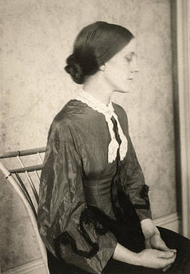 Pictorialism Photograph - Portrait Of A Woman, C1895 by Granger