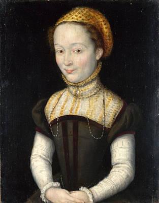Painting - Portrait Of A Woman by Corneille de Lyon