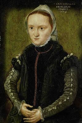 Self-portrait Drawing - Portrait Of A Woman, Probably A Self Portrait by Litz Collection