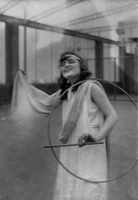 Portrait Of A Young Actress, Original Art Print by Everett