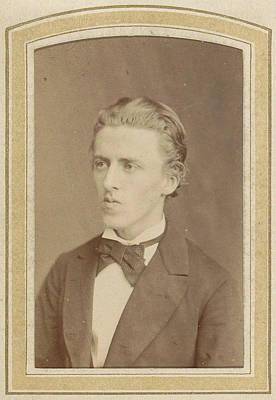 Portrait Of A Young Man, Albert Greiner Art Print by Artokoloro