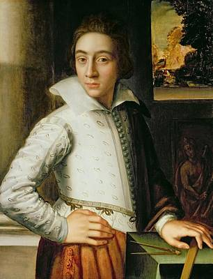 Portrait Of A Young Man, Mid-sixteenth Art Print by Florentine School