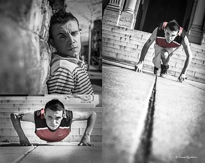 Photograph - Portrait Of A Young Sportsman by Stwayne Keubrick
