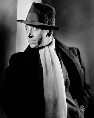 Film Photograph - Portrait Of Actor George Raft by Lusha Nelson