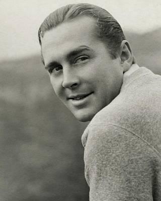 Portrait Of Actor James Dunn Art Print