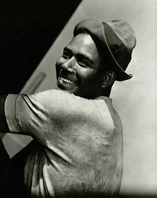 Portrait Of Actor Rex Ingram Art Print