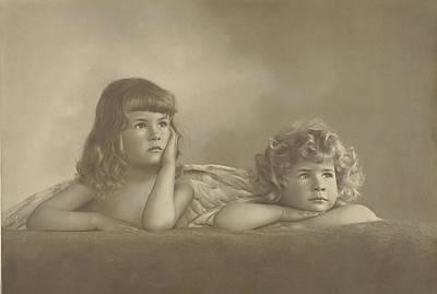 Renee Photograph - Portrait Of Agnes Renee And Irene Heloïse Pauw Van by Artokoloro