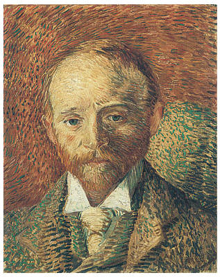 Portrait Of Alexander Reid Art Print by Vincent Van Gogh