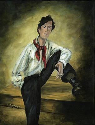 Portrait Of Amedeo Modigliani Original by Cecilia Brendel