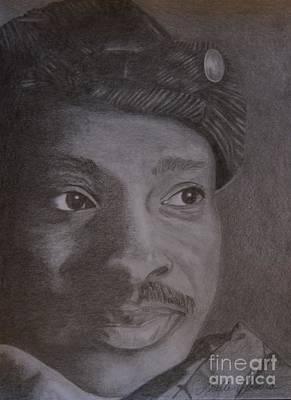 Drawing - Portrait Of An Artist... Timothy Orikri by Lorelle Gromus