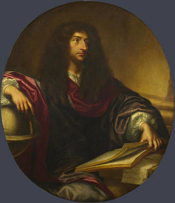Astronomers Painting - Portrait Of An Astronomer by Gabriel Revel