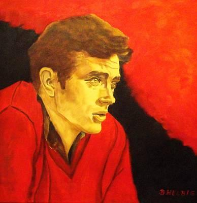 Dagmar Painting - Portrait Of An Idol by Dagmar Helbig