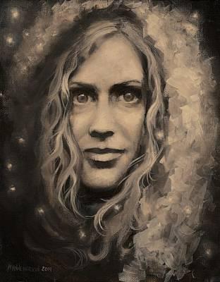 Portrait Of Annie Art Print